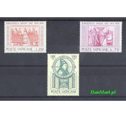 Watykan 1975 Mi 667-669 Czyste **