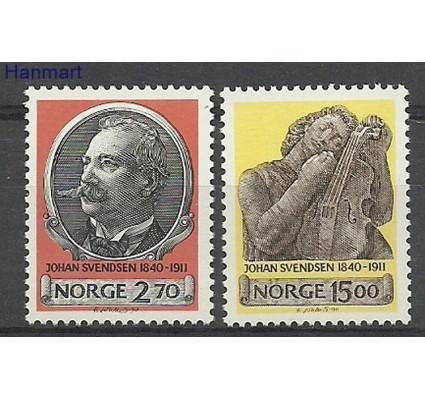 Znaczek Norwegia 1990 Mi 1054-1055 Czyste **