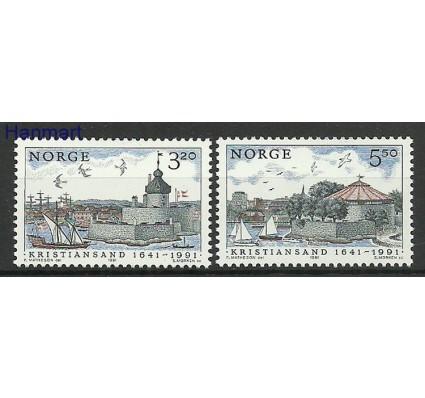 Znaczek Norwegia 1991 Mi 1064-1065 Czyste **