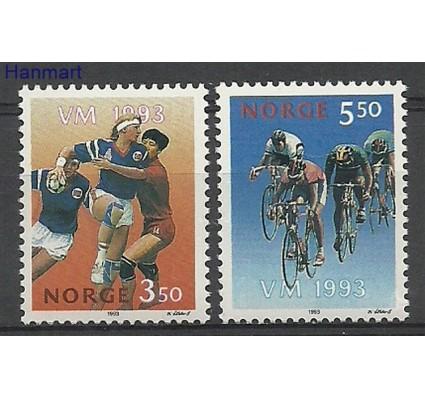 Znaczek Norwegia 1993 Mi 1129-1130 Czyste **