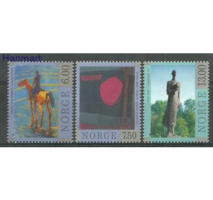 Znaczek Norwegia 1998 Mi 1287-1289 Czyste **