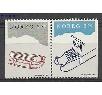 Znaczek Norwegia 1994 Mi 1170-1171 Czyste **