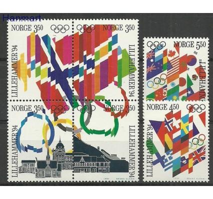 Znaczek Norwegia 1994 Mi 1145-1150 Czyste **