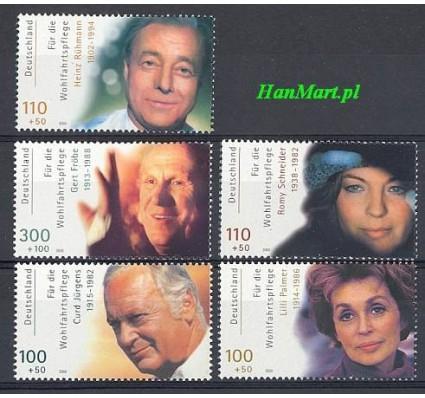 Niemcy 2000 Mi 2143-2147 Czyste **