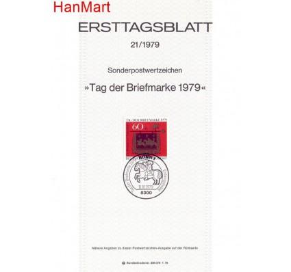 Niemcy 1979 Pierwszy dzień wydania