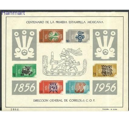 Znaczek Meksyk 1956 Mi bl1 Z podlepką *