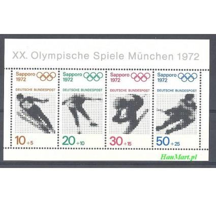 Niemcy 1971 Mi bl 6 Czyste **
