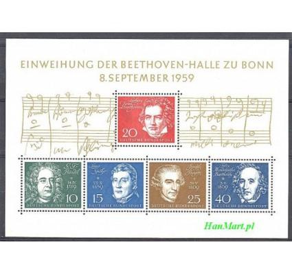 Niemcy 1959 Mi bl 2 Czyste **