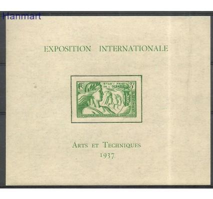Znaczek Oceania Francuska 1937 Mi bl1 Czyste **