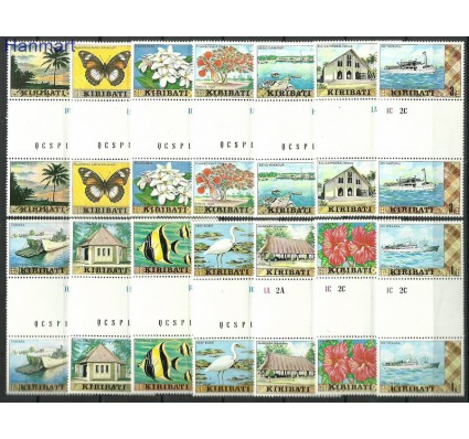 Znaczek Kiribati 1979 Mi gut322-335 Czyste **