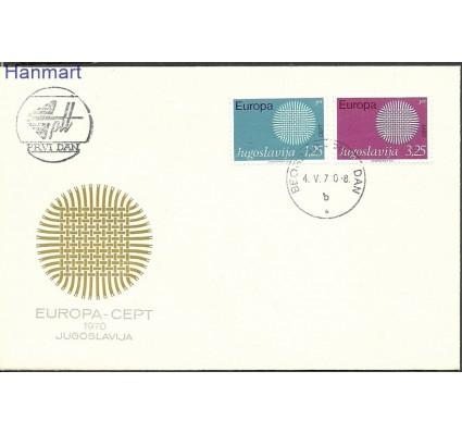 Znaczek Jugosławia 1970 Mi 1379-1380 FDC
