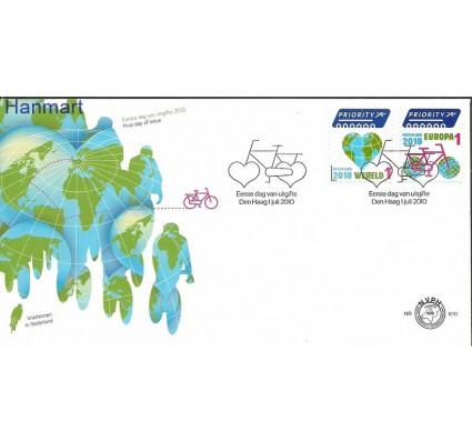Znaczek Holandia 2009 Mi 2633-2634b FDC