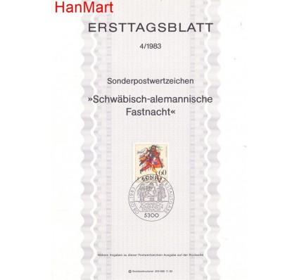Znaczek Niemcy 1983 Pierwszy dzień wydania