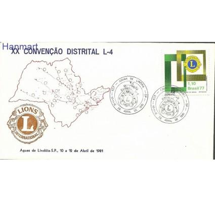 Znaczek Brazylia 1977 Mi 1586d FDC