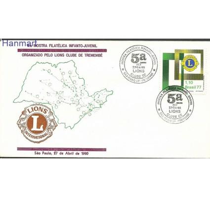 Znaczek Brazylia 1977 Mi 1586g FDC