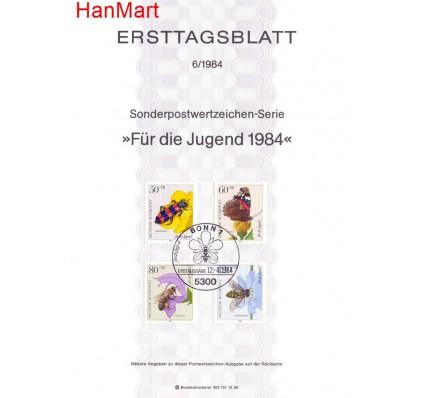 Znaczek Niemcy 1984 Pierwszy dzień wydania