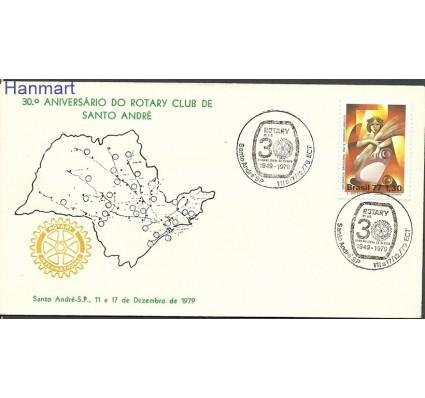 Znaczek Brazylia 1977 Mi 1641 FDC