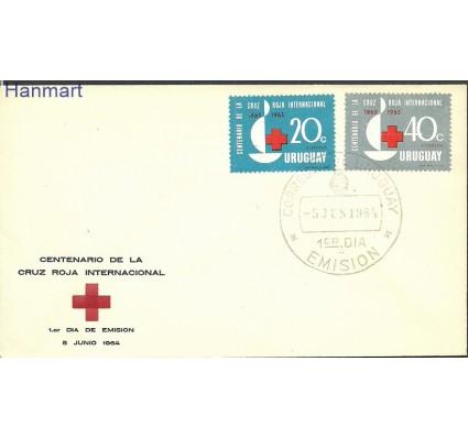Znaczek Urugwaj 1964 Mi 972-973 FDC
