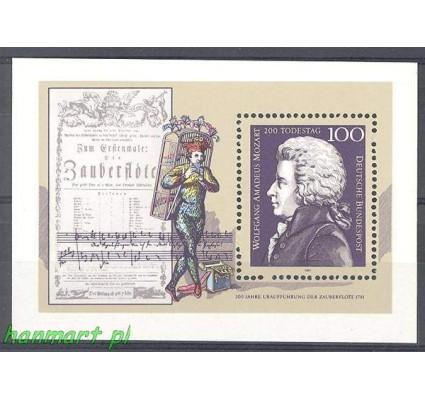 Niemcy 1991 Mi bl 26 Czyste **