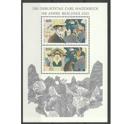 Niemcy 1993 Mi bl 28 Czyste **