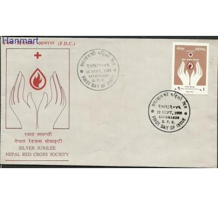 Znaczek Nepal 1988 Mi 492 FDC