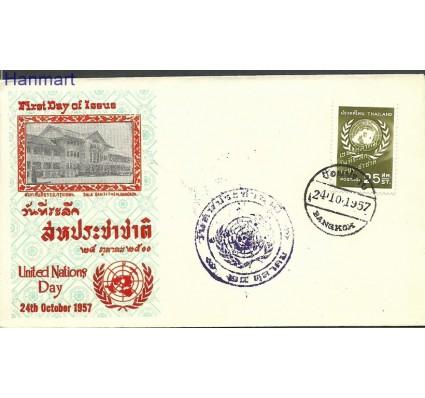 Znaczek Tajlandia 1957 Mi 340e FDC