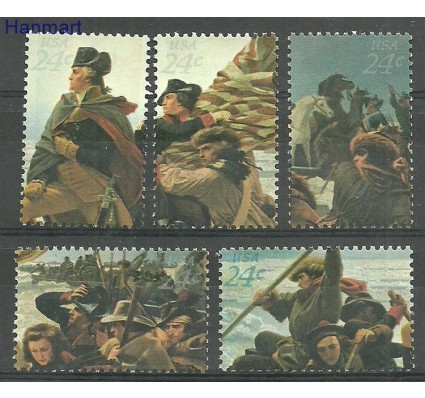 Znaczek USA 1976 Mi 1267-1271 Czyste **