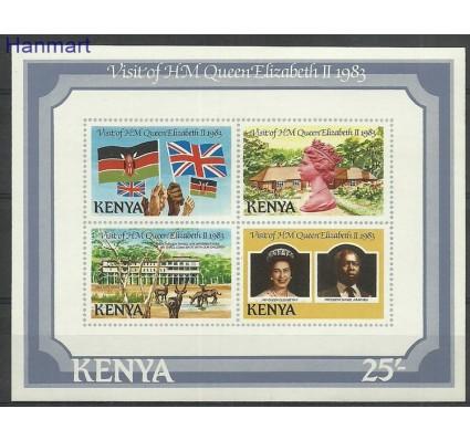 Znaczek Kenia 1983 Mi bl21 Czyste **