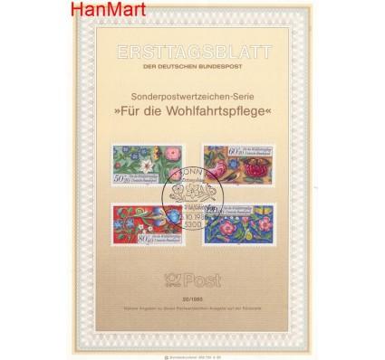 Znaczek Niemcy 1985 Pierwszy dzień wydania