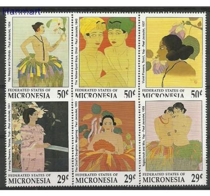Znaczek Mikronezja 1991 Mi 224-229 Czyste **