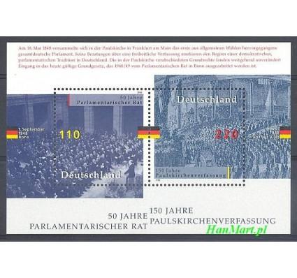 Niemcy 1998 Mi bl 43 Czyste **