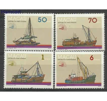Znaczek Makau 1985 Mi 246-249 Czyste **