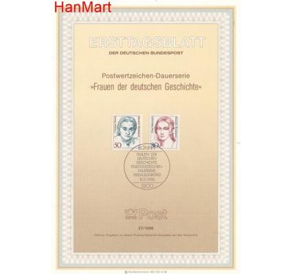 Znaczek Niemcy 1986 Pierwszy dzień wydania