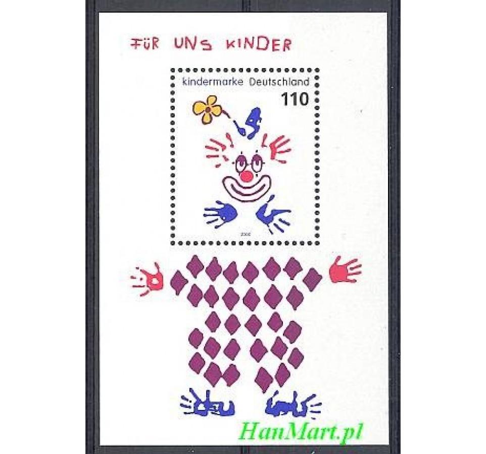 Niemcy 2000 Mi bl 53 Czyste **