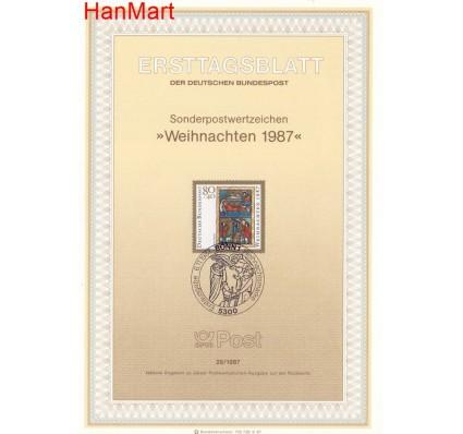Znaczek Niemcy 1987 Pierwszy dzień wydania