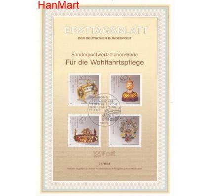 Znaczek Niemcy 1988 Pierwszy dzień wydania