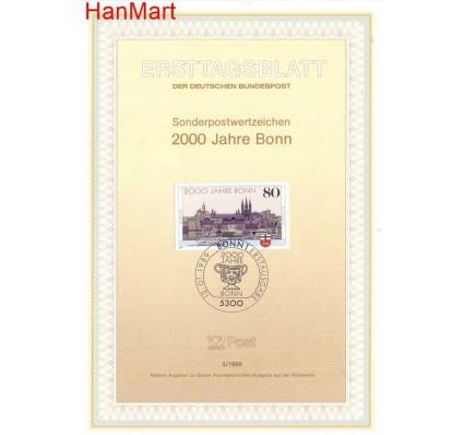 Znaczek Niemcy 1989 Pierwszy dzień wydania