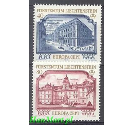 Liechtenstein 1978 Mi 692-693 Czyste **