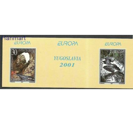 Znaczek Jugosławia 2001 Mi mh 3031 Czyste **