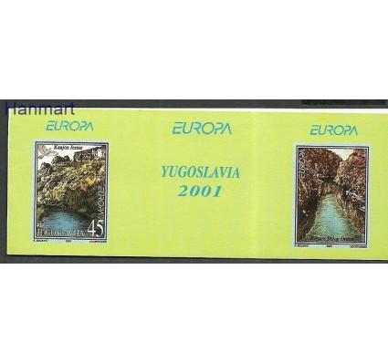 Znaczek Jugosławia 2001 Mi mh 3032 Czyste **
