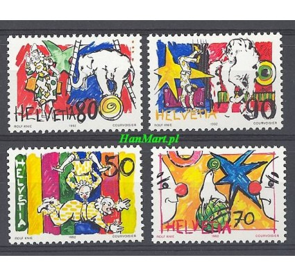 Znaczek Szwajcaria 1992 Mi 1478-1481 Czyste **