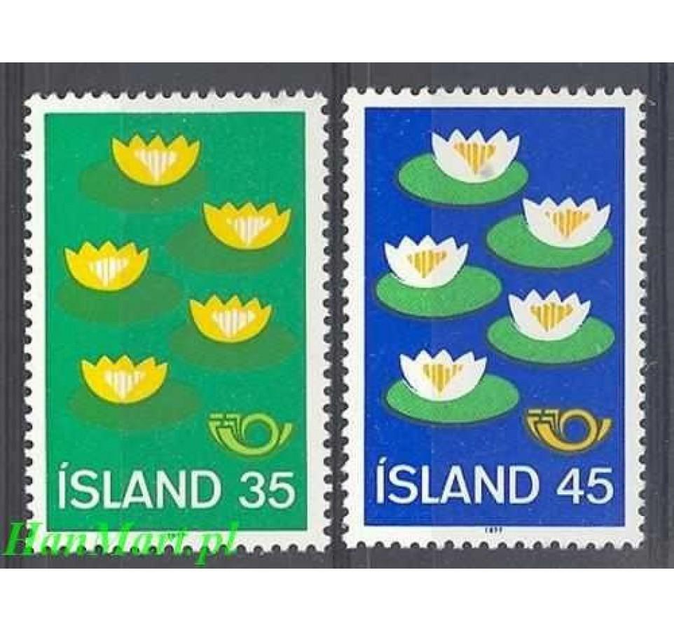 Islandia 1977 Mi 520-521 Czyste **