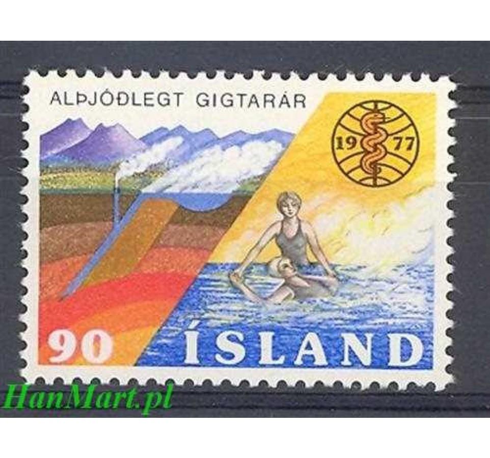Islandia 1977 Mi 526 Czyste **