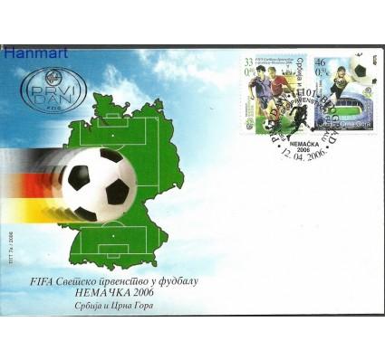 Znaczek Serbia i Czarnogóra 2006 Mi 3325-3326 FDC