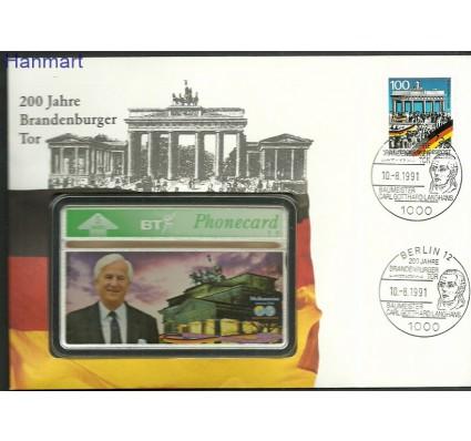 Znaczek Niemcy 1990 Mi pho1482 FDC