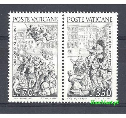 Znaczek Watykan 1977 Mi 701-702 Czyste **