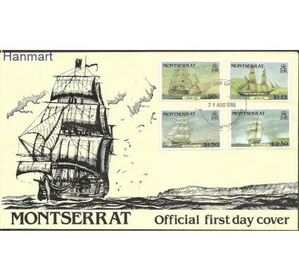 Znaczek Montserrat 1986 Mi 643-646 FDC