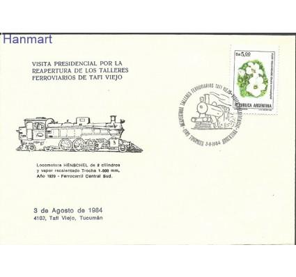 Znaczek Argentyna 1984 Mi 1643a FDC
