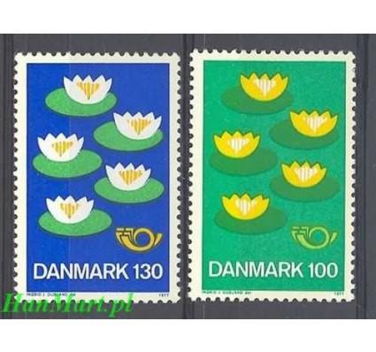 Dania 1977 Mi 635-636 Czyste **