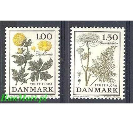 Dania 1977 Mi 653-654 Czyste **